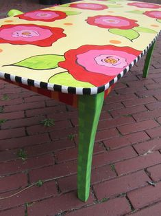 Another colorful table