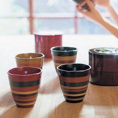 アレックス・カーさんが見立て 日本の美しいもの山中漆器 こま帯フリーカップの会