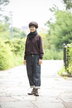 Vogue, Japanese Outfits, Mode Style, Fasion, Short Hair Styles, Normcore, Stylish, Womens Fashion, Winter