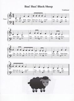 Baa Baa Black Sheep, Let's Play Music Piano Guys, Piano Man, Z Music, Piano Music, Learning Piano, Teaching Music, How Did It Go, Let It Be, Lets Play Music