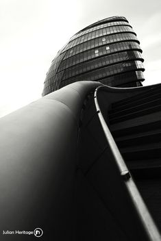 """. . . . to the mothership!"", London City Hall // Norman Foster // London, UK // photo by ShrubMonkey (Julian Heritage)"