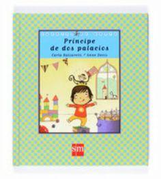 Libro infantil, cuento padres separados: Príncipe de dos palacios