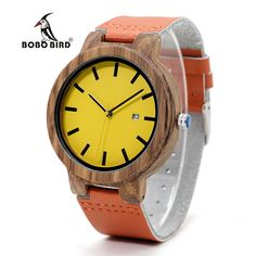 Cheap watch genuine, Buy Quality watch men directly from China watch genuine leather strap Suppliers: BOBO BIRD Luxury Wood Watch Men and Women Wooden Watches Genuine Leather Strap Move 2035 Quartz Wristwatch relogio femi C-O09