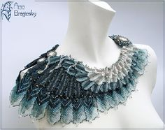 I wish I could learn to do this. I have so many beads, I could make a killing off making jewelry...