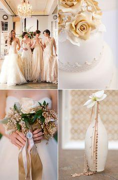 Elegant wedding ideas | beige beauties