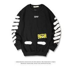 C/O Virgil Abloh Plaid Long Sleeve T-Shirt Sweatshirt Casual Shirt in Clothing, Shoes & Accessories, Men's Clothing, Sweats & Hoodies Hoodie Sweatshirts, Pullover Hoodie, Sweatshirts Online, Printed Sweatshirts, Hoodies, Camouflage Hoodie, Track Suit Men, Hipster, Sport T Shirt