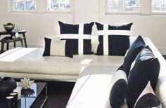 Velvet Cross Cushions