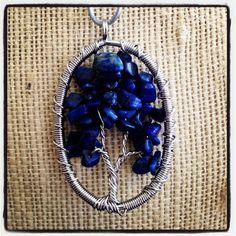 Lapis Lazuli Life Tree