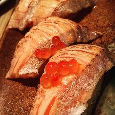 Aburi Salmon Belly #aburi #aburisalmon #aburisalmon #sushiteh #sgfoodporn #sgfood by yoonhin