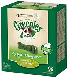 GREENIES® Weight Management Treat for Dogs, 27 ounce Teenie® (96ct) - http://weloveourpugs.net/?product=greenies-weight-management-treat-for-dogs-27-ounce-teenie-96ct