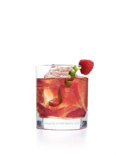 Blushing Berry: 2oz Voli Raspberry Cocoa 1/2oz raspberry liqueur Regular or Diet Cranberry Juice Garnish with fresh raspberry and lime twist!