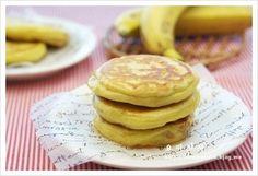 바나나 호떡 - Korean pancakes with banana filling