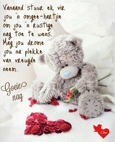 Nurse Art, Goeie Nag, Afrikaans Quotes, Good Night Wishes, Special Quotes, Night Quotes, Sleep Tight, Friendship Quotes, Cute Pictures