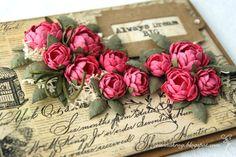 Paper Roses Tutorial - PAPER CRAFTING