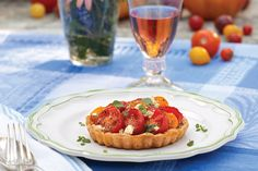 Tomato and Feta Cheese Tart