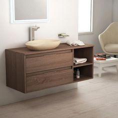 168 meilleures images du tableau meubles salle de bains en - Meuble salle de bain bois fonce ...