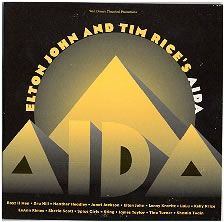 For Sale - Elton John Aida - Withdrawn Disney Sleeve UK Promo  CD album (CDLP) - See this and 250,000 other rare & vintage vinyl records, singles, LPs & CDs at http://eil.com
