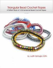 Book 3 - Triangular Bead Crochet Ropes - print & eBook