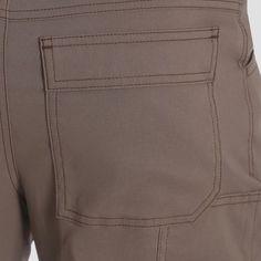 Wrangler Men's Outdoor Stretch Nylon Utility Pants - Bison 32x34