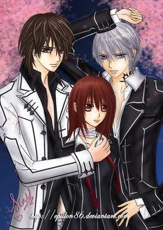 Vampire Knight - Under Sakura by Epsilon86.deviantart.com on @deviantART