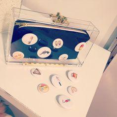 #handbag #purse #madeinusa #handmade #clutches #aw16 #Ashlynd #accessoriecircut #enk #clutch #fashionweek #fashion #new #nyc #nyfw #newyork #enk #bag #emoji #denim