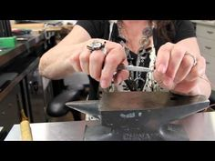 How to Make Jump Rings | Jewelry Tips with Nancy - YouTube