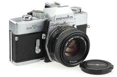 Minolta SRT 101 35mm Film Camera Minolta 50mm. A work horse.
