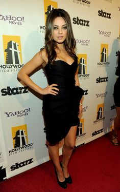 Mila Kunis - 14th Annual Hollywood Awards Gala - Red Carpet