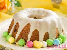 babka z lukrem przepis, babka wielkanocna z lukrem przepis, przepis na babę wielkanocną z lukrem Cake Pops, Doughnut, Yummy Food, Yummy Recipes, Birthday Cake, Pudding, Keto, Sweet Tooth, Cook