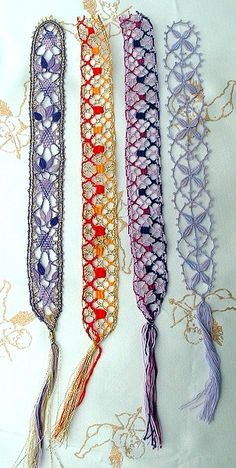 A more modern look at Bobbin Lace! www.celticdreamweaver.com