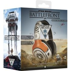 Turtle Beach - Star Wars: Battlefront Sandtrooper Wired Stereo Gaming Headset for PlayStation 4, Xbox One, Windows and Mac - Off White - AlternateView16 Zoom