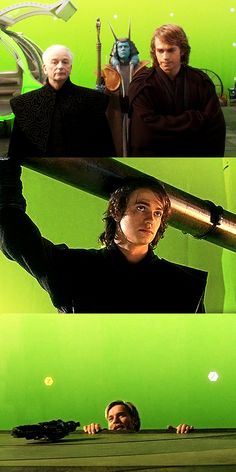 Behind the scenes RotS