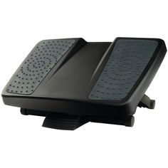 Fellowes Ultimate Foot Support - Free-floating Platform Allows For Rocking Motion To Help Improve Circulation Three Platform Height Settings & Up To 25 Tilt Surface Massage Bumps Help Relieve Stress Elevates Feet & Legs To Help Reliece Lower Back Pressure & Improve Posture