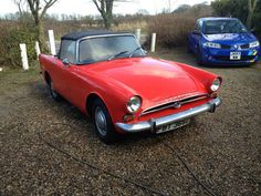 1966 Sunbeam Alpine convertible car on eBay.