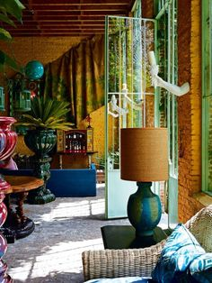 Sharing the best in Eclectic and Bohemian Interior design from across the web Bohemian Decor, Bohemian Interior Design, Bohemian House, Interior Design Inspiration, Design Ideas, Bohemian Style, Jean Philippe, Vintage Interiors, Colorful Interiors