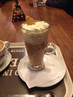 Christmas Ginger Bread latte by Costa