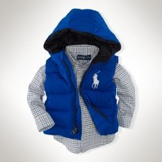 Big Pony Puffer Vest - Infant Boys Outerwear & Jackets - RalphLauren.com