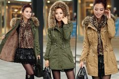 I just bought Fleece-Lined Hooded Parka - 2 Colours! (now £22) via @wowcher