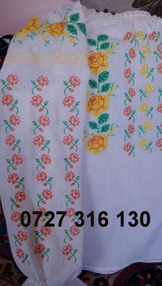 Embroidery, Romania, Crochet, Chic, Punto De Cruz, Dots, Shabby Chic, Needlepoint, Chrochet
