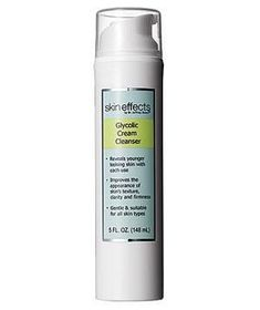 Best Exfoliating. CVS $13 Skin Effects by Dr. Jeffrey Dover Glycolic Cream Cleanser fights flakes and brightens skin with glycolic acid and hydrates with hyaluronic acid.