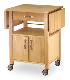 Portable Kitchen Island Rolling Cart Countertop Cabinet Furniture Table Storage