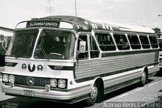 Ônibus da empresa AVA - Auto Viação Americana, carro 164, carroceria CAIO Gaivota, chassi Mercedes-Benz O-355. Foto na cidade de Americana-SP por Acervo Regis Carvalho, publicada em 19/06/2012 20:48:56.