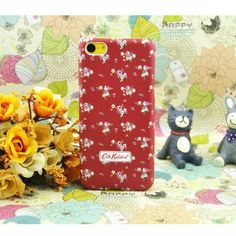 Cath Kidston Spring Flowers iPhone 5C Case - Red