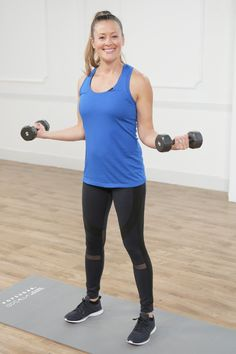 "Get Strong With Mom: 10-Minute Sculpted Arms and ""Mom-Strength"" Workout"