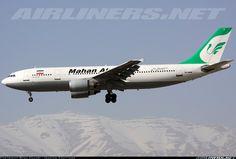 Mahan Air EP-MNR Airbus A300B4-603 aircraft picture
