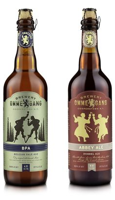 Brewery Ommegang Logo and Packaging by Duffy & Partners