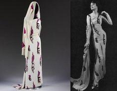 Tear dress by Elsa Schiaparelli and Salvador Dalí