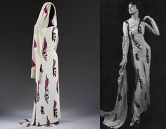 Tear dress by Elsa Schiaparelli and Salvador Dalí