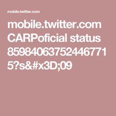 mobile.twitter.com CARPoficial status 859840637524467715?s=09
