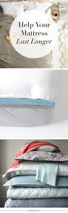 Help Your Mattress Last Longer | Martha Stewart Living